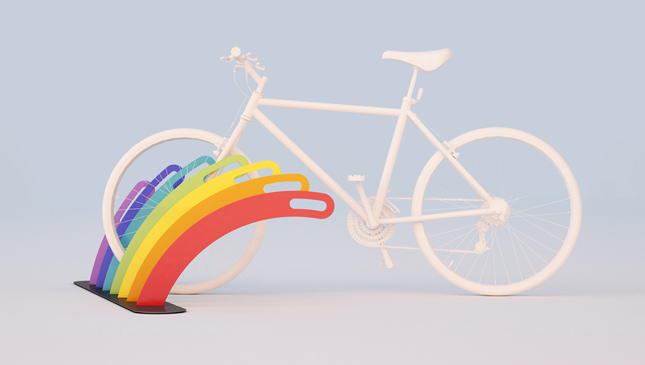 RAINBOW | multiple bikerack | 2018